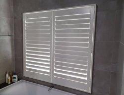 El mejor precio del obturador de la ventana redonda de madera real para la decoración del hogar