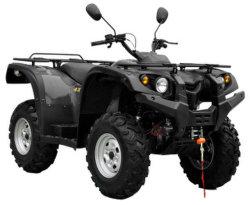 4-slag Elektrische 4WD ATV Al Voertuig van het Terrein