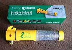 Regalo promocional Banco de Seguros de coche 4 en 1 vaso de emergencia de la correa de martillo Cutter LINTERNAS Linterna de emergencia el Kit de herramientas