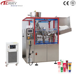 완전히 Automatic Plastic Tube Filling와 Sealing /Packaging Tube 또는 Skincare/Beauty Product/Pharmaceutical