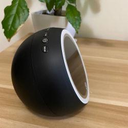 Sveglia senza fili della radio dell'altoparlante di Bluetooth dello specchio del LED con la notte che oscura indicatore luminoso