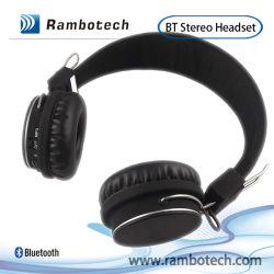지원 TF 카드, iPhone 4를 위한 MP3 Bluetooth 헤드폰 Bluetooth 무선 헤드폰