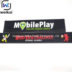 Personalizar o contador de PVC Bar Tapete na rampa para a promoção