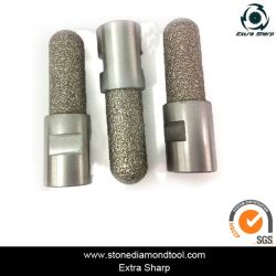 Filetage M14 Electroplated Granite Bits de base de forage au diamant humide