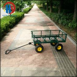 300kgs Kapazität Stahlgitter Garten Warenkorb Utility Tool Cart