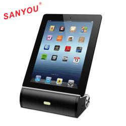 2en1 Haut-parleur sans fil Bluetooth avec support iPad