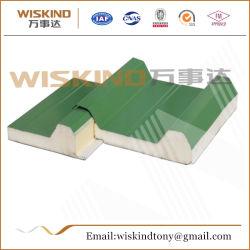 50mm/75mm/100mm/150mm/200mm/300mm EPS/PU/PIR/PUR/poliuretano/lã de rocha painel sanduíche para Estrutura de aço/cold storage o telhado e os painéis de parede