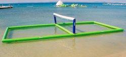 2019 Nueva playa mar de agua inflable campo de voleibol