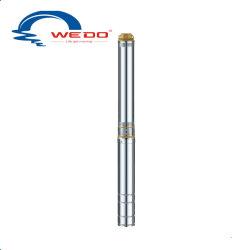 4SD profonde en acier inoxydable en laiton et de la pompe à eau submersibles