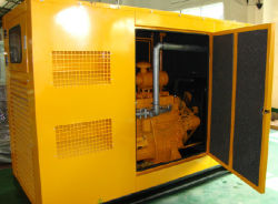 مجموعة مولدات الغاز الصامت (37.5 كيلوفولت أمبير-1500 كيلوفولت أمبير)