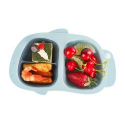 아이들 저녁식사 세트 PP 플라스틱 격판덮개 세트 식기류 아이 큰 접시 세트