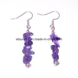 Boucles d'oreilles Semi Precious Stone Bijoux en cristal <Esb01901>