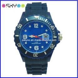 Moda Esportiva de Silicone personalizado relógio de pulso digital de quartzo com o seu logotipo (P6800)