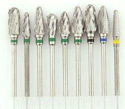 Taglierina dentale del carburo di tungsteno di buona qualità