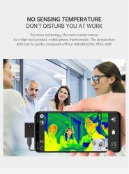 셀룰라 전화 적외선 온도계 이동 전화는 이동 전화 열 영상 사진기 적외선 체온 열 사진기를 분해한다