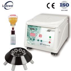 El PRP Prf Portable a baja velocidad de 4.000 rpm Micro centrífuga de equipos de laboratorio (TD4) para el experimento de laboratorio Genral & prueba médica