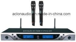 Commerce de gros Aclon UHF 100 mètres de plage de Karaoke Professionnel microphone sans fil