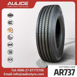 11R22.5 pneus tubeless voiture AR7371 Aulice tous les bus du chariot pneumatique radial en acier avec longue durée de vie en usine