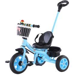 As crianças de alta qualidade populares Brinquedos de condução Portable bebê triciclo a terra como dom a Bt-14