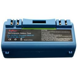 14,4V 3500mAh Ni-MH Pack de baterias recarregáveis de alta potência para Irobot Scooba Aspirador 330 350 380 5800 5900 5930 Series Aspirador (12S de FH-4/3A3500P)