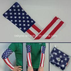 Drapeau américain Pro Elite Sports manchon de bras de compression