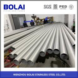 Ss 304/316 en acier inoxydable laminés à froid tubes sans soudure de tuyau avec recuit