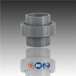 Huasheng CPVC 압력 파이프 피팅 유니언 DN15 DN20 DN25 DIN