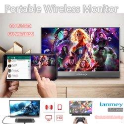 Portablの無線タッチ画面のモニタ