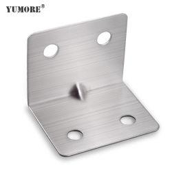 المكونات المعدنية طي سطح الطاولة تثبيت الزجاج تثبيت أقواس زاوية الألومنيوم
