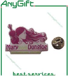 شارة دبابيس معدنية مطبوعة مع شعار مخصص