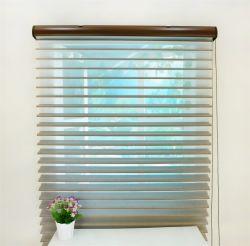 100% Polyester Shangri-La Rouleau de tissu de la fenêtre de l'obturateur d'indisponibilité