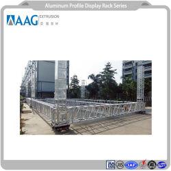 Comercio al por mayor perfil de aluminio LED Luz lineal y rígida de la barra de perfiles de aluminio Sxs DMX18 para los productos estanterías Retail Soporte Pop mostrar