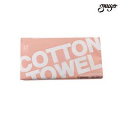 Vente à chaud 100% coton humide sec OEM et les mouchoirs de papier de coton à double usage