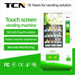 Tcn célèbre producteur de la Chine l'écran tactile d'alimentation des distributeurs automatiques de boissons gazeuses de la machine