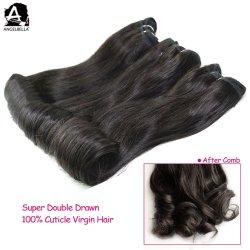 Бразильский Angelbella человеческого волоса элемент 1b# природных Реми волос
