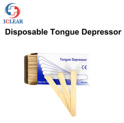 Hölzerne Zunge-Prüfung-Senker-Wegwerfspachtel