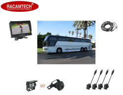 4 датчиков и камеры заднего вида контролирует датчики парковки видео/радиолокационной системы для автомобильной шины Can