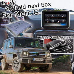 Sistema di navigazione Android Lsailt GPS per Mercedes Benz Classe G. NTG 5.0 interfaccia video Comand Auido20 Waze YouTube Yandex CarPlay Android Auto opzionale