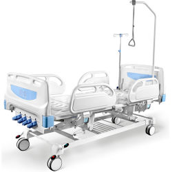 F4c vier reizbares manuelles Krankenhaus-medizinisches Bett mit vier Funktionen