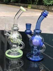 Tambor de vidro Percolator coloridos do tubo de água