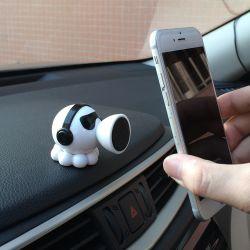 Поворот на 360 градусов шаровой головки автомобильный держатель магнитный держатель для мобильных ПК на приборной панели автомобиля