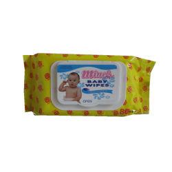 Veegt de Aangepaste Tedere Organische Natte Baby Skincare van de baby Producten af