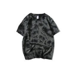 Sondern neuer China-Lieferant 100%Cotton der Ankunfts-2019 Bildschirmausdruck-Shirt-Gleichheit-Farbe der Jersey-Gewebe-Männer aus