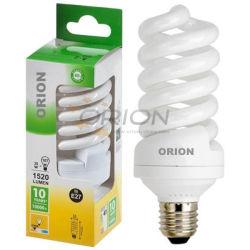 Qualidade elevada 15W 20W 25W 30W 45W 65W espiral E27 a poupança de energia acende