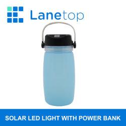 Outdoor Camping Lanterne solaire avec la Banque d'alimentation