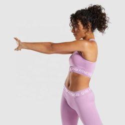 Polyester en de Materiële Elastische Kleding van de Yoga van de Geschiktheid Spandex voor Verkoop