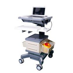 Ordinateur portable de médecine de trolley panier panier Chariot de l'hôpital médical de la station de travail panier Chariot de l'hôpital de l'ABS