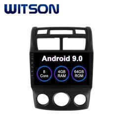 Android 9.0 voiture DVD Lecteur multimédia pour KIA 2004-2010 Manuel Sportage climatiseurs Version 4Go de RAM 64 Go