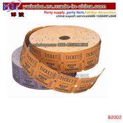 Produits tiers Décoration de vacances de carnaval billets Billets cylindrique double (B2002)