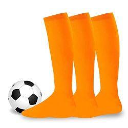 Детский колено высокой носки девочек мальчиков футбол полосами хлопка спортивная школа белые носки скейт детей Детского Длинная труба ноги теплый